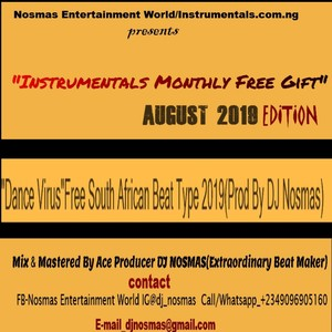 Instrumentals Monthly Free Gift Track 5 August 2019 Edition Upload Your Music Free