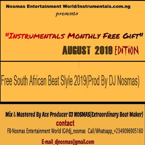 Instrumentals Monthly Free Gift Track 4 August 2019 Edition Upload Your Music Free