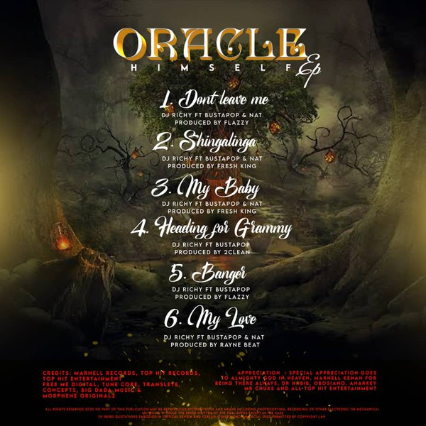 Oracle Himself EP Upload Your Music Free